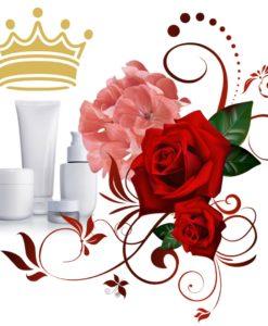 роза и герань против старения