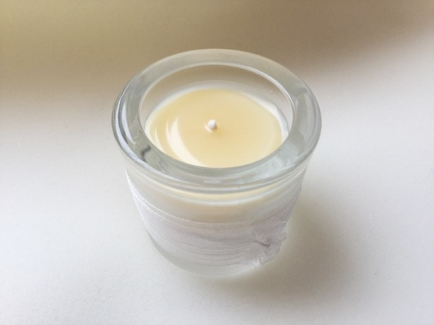 Amber Vanilla candle